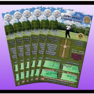 6 Outdoor Golf Mats